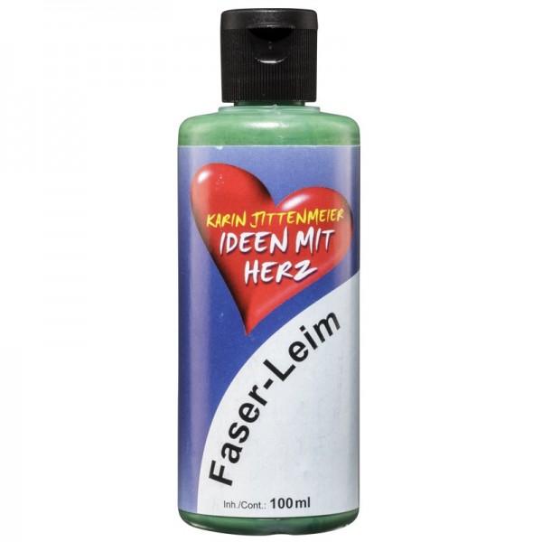 Faser-Leim, grün, 100 ml