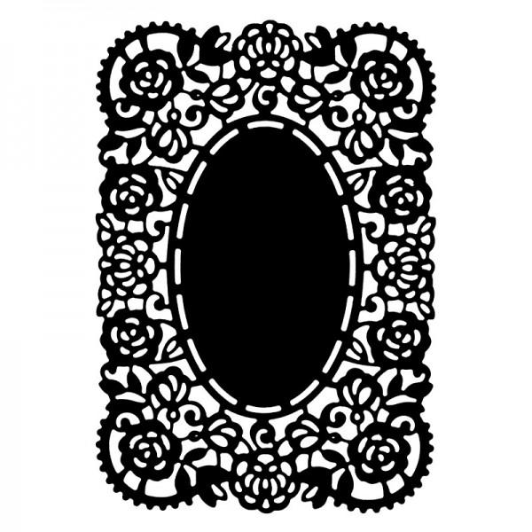 Stanzschablone, Kartenaufleger 3, 13,5cm x 9,3cm
