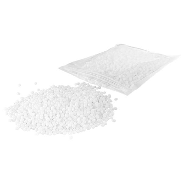 Kunststoffgranulat, formbar, weiß, 100g