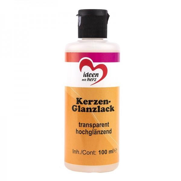 Kerzen-Glanzlack, transparent, hochglänzend, 100 ml