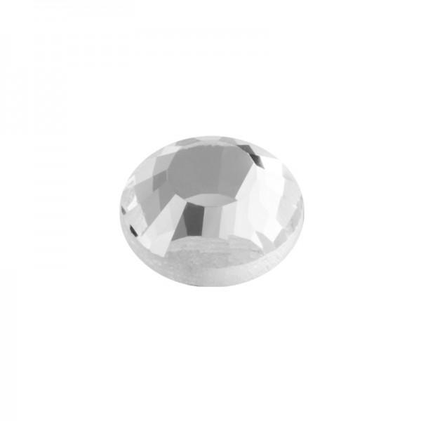 Hot-Fix Glas-Kristalle zum Aufbügeln, Ø4mm, 1000 Stk., transparent