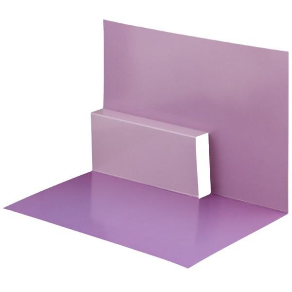 Pop-Up-Grußkarten-Einleger, gefaltet 11 x 15,5 cm, Design 14, violett