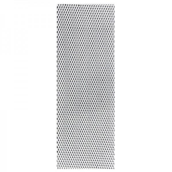 """Stoffe Royal """"3-D Glimmer-Netze"""", selbstklebend, 10 x 29 cm, 5 Stück, weiß-irisierend"""
