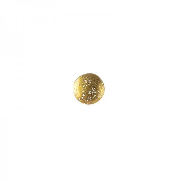 Hot-Fix Glitzer-Nieten zum Aufbügeln, Ø 6mm, gold, 200 Stück