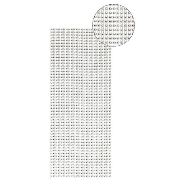Schmuck-Netz, selbstklebend, 12 x 30 cm, silber, Design 19