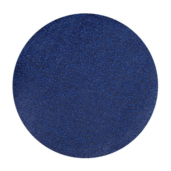Satin-Kreise, Ø6cm, 50 Stück, Folien-Print-Punkte, dunkelblau