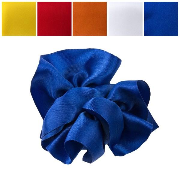 Zieh-Rüschenband, Satin, kräftige Farben, 0,9m x 3cm, 10 Stück