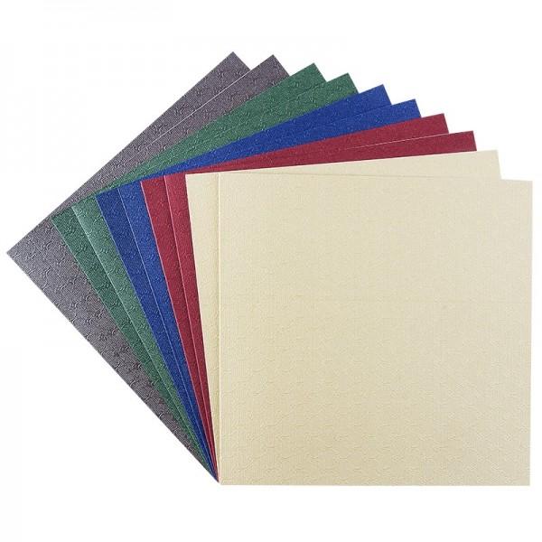 """Grußkarten """"Wien"""", 16cm x 16cm, kräftige Farbtöne, inkl. Umschläge, 10 Stück"""