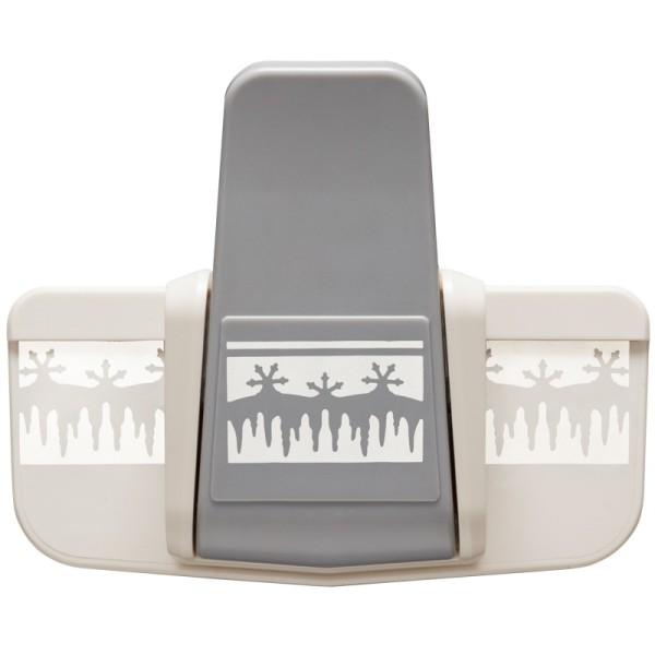 Royal Bordüren-Stanzer, Eiszapfen, Stanzung 3,3 x 5,8 cm