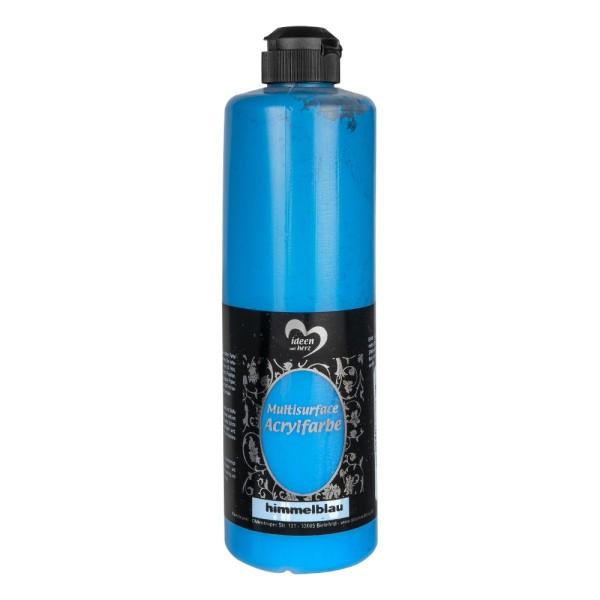 """Acrylfarbe """"Multisurface"""", himmelblau, 500ml"""