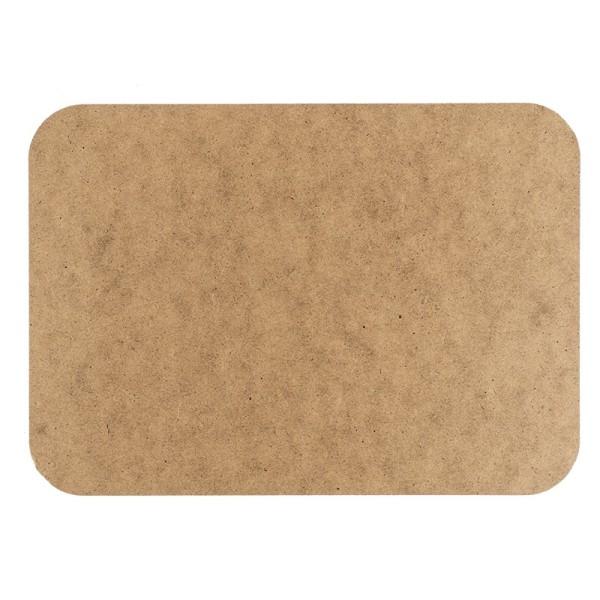 Kreativ-Platte, rechteckig, DIN A4, Stärke: 3mm