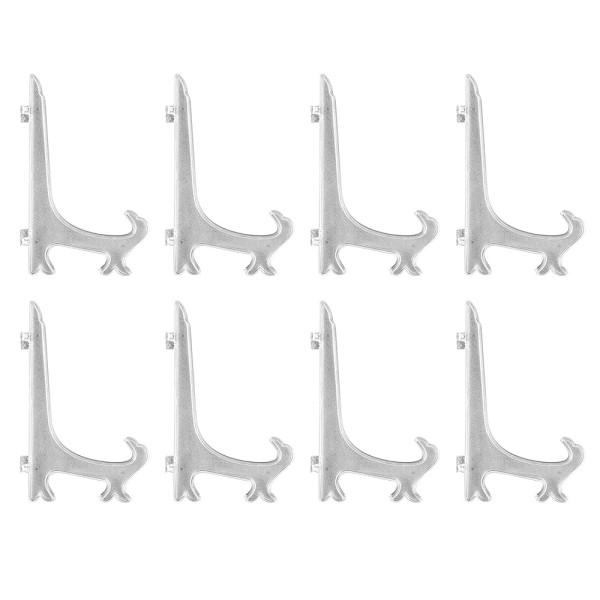 Staffeleien, für Rahmen & Bilder, 20,1cm x 12,6cm, klappbar, klar, 8 Stück