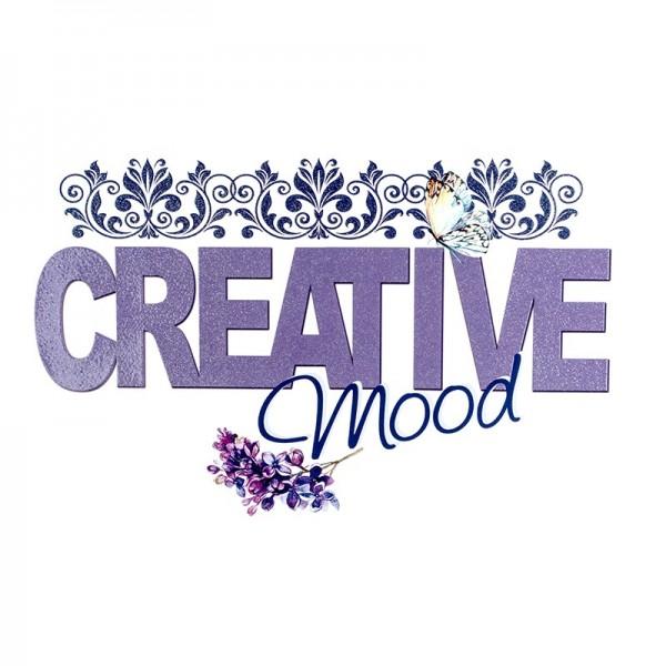 Color Bügeltransfer, Glitzer, DIN A4, Creative Mood