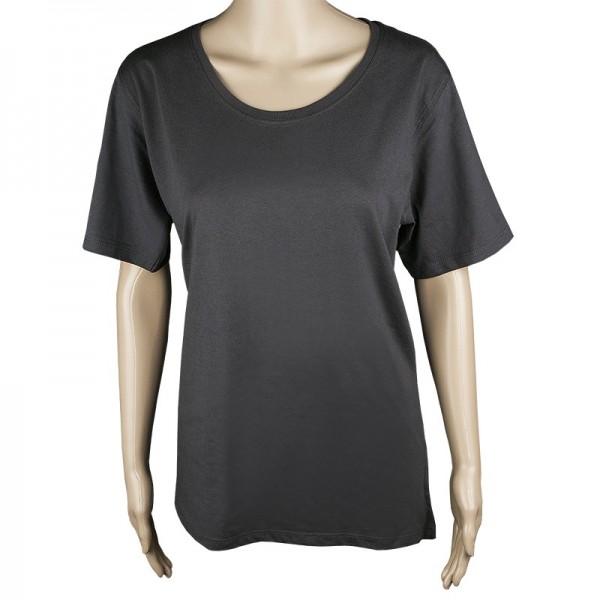 Damen T-Shirt, anthrazit, Größe 3XL