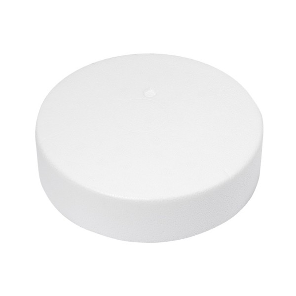 Styropor-Podest, rund, Ø20 cm, 5 cm hoch
