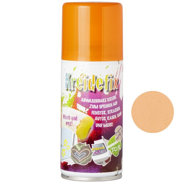 "Sprühfarbe ""Kreidefix"", orange, 150 ml"