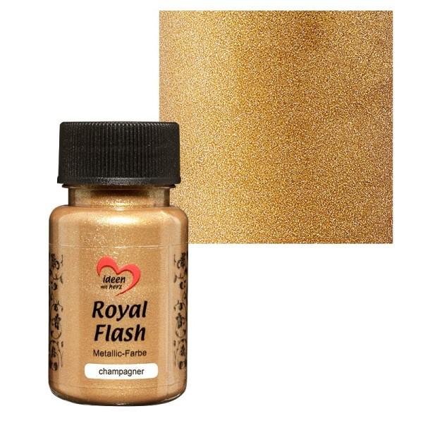 "Metallic-Farbe ""Royal Flash"", champagner/gold, 50 ml"
