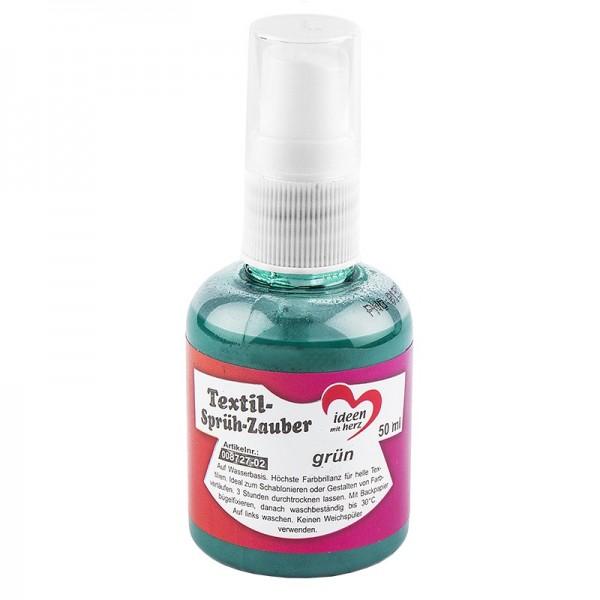 Textil-Sprüh-Zauber/Textil-Sprühfarbe, 50 ml, grün