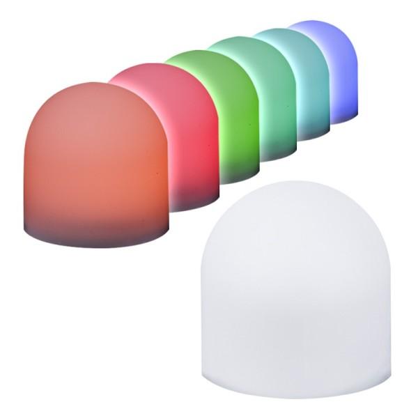 LED-Leuchti mit Farbwechsel, 3,8cm x 3,7cm, 6 Stück