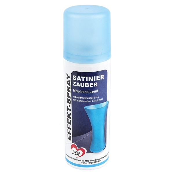 Effekt-Spray Satinier-Zauber, blau-transluzent, 125ml