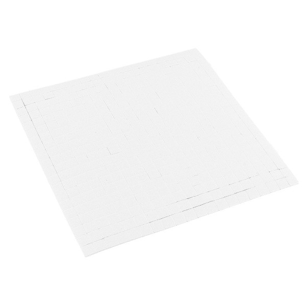 Klebepads, 5mm x 5mm, 1mm hoch, 400 Stück, weiß