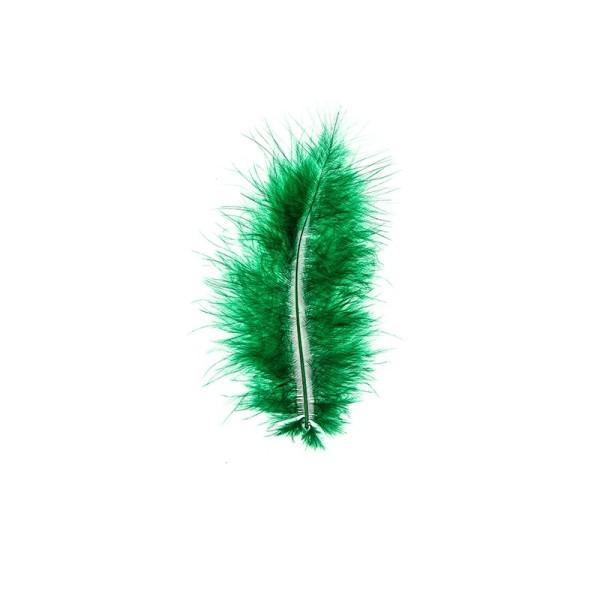Premium-Flausch-Federn, 10g, grün