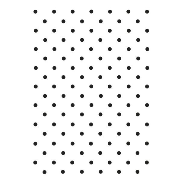 Laser-Kunststoff-Schablone, DIN A4, Hintergrund 6, Punkte