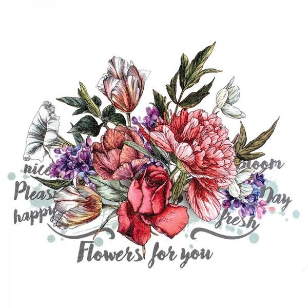 Color Bügeltransfer, Glitzer, DIN A4, Blumen 9