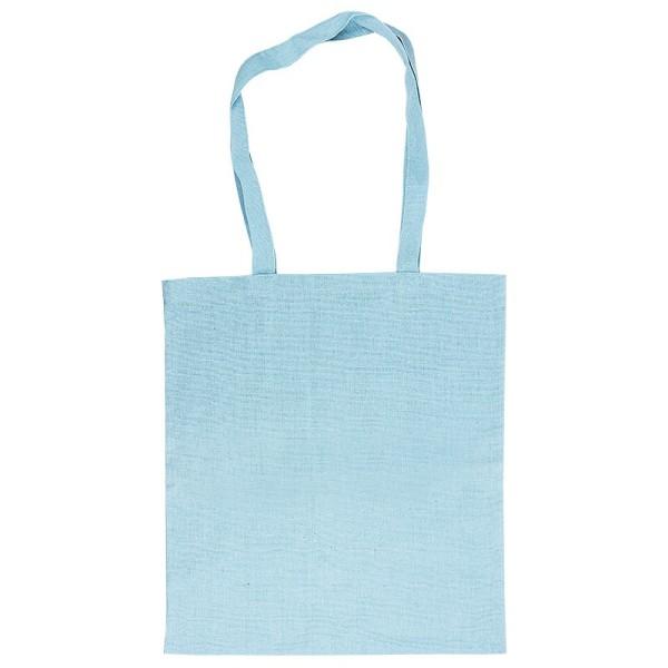 Textil-Tasche, 38cm x 42cm, mit zwei Lang-Henkeln, mint