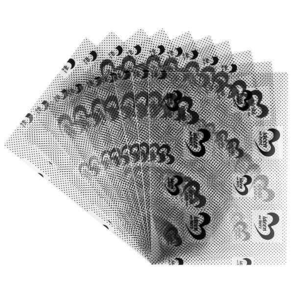 Windrad-Klebefolien, DIN A4, 300µ, einseitig klebend, transparent, 10 Stück