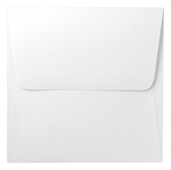 Umschläge, 14x14cm, weiß, 10 Stück