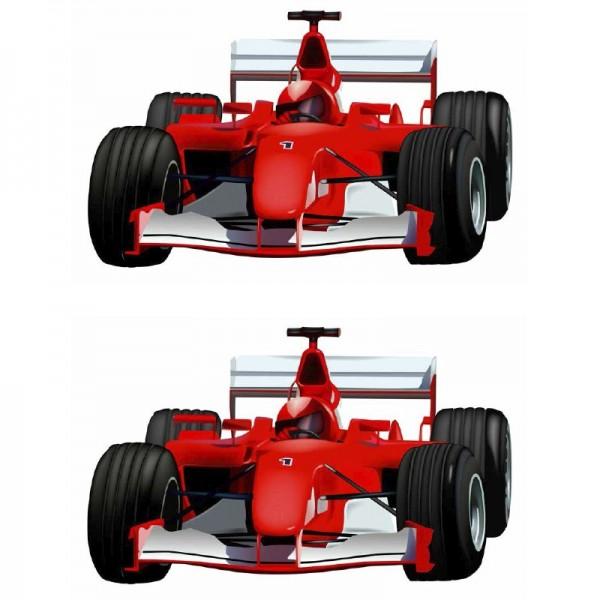 Color Bügeltransfers, DIN A4, Formel 1