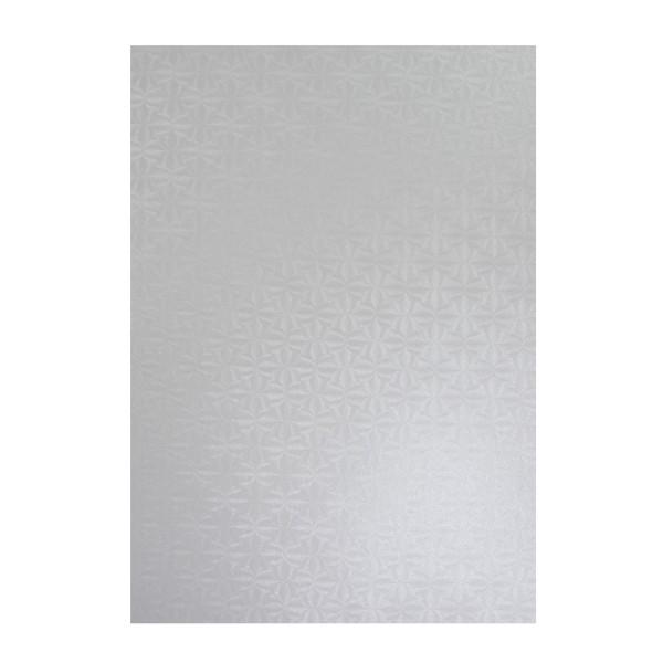 Perlmuttglanz-Karton, 2-seitig, DIN A4, 10 Bogen, weiß