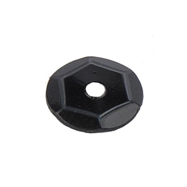 Pailletten, 15g, Ø 6mm, schwarz