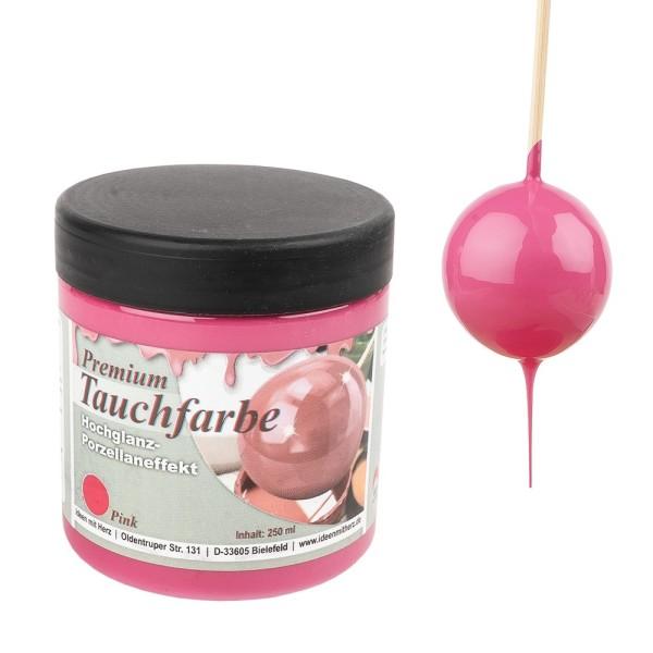 Premium-Tauchfarbe, Pink, 250ml