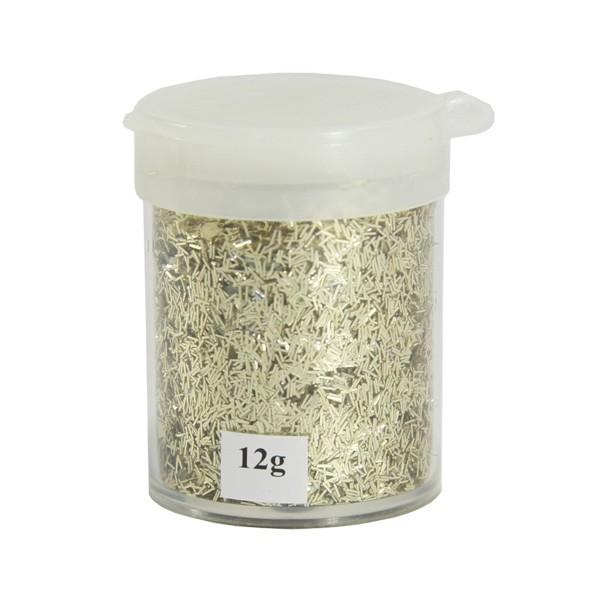 Stäbchen-Glimmer, 12g, gold