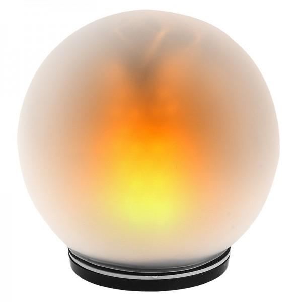 LED-Kugellampe, Feuerball, Ø 13cm