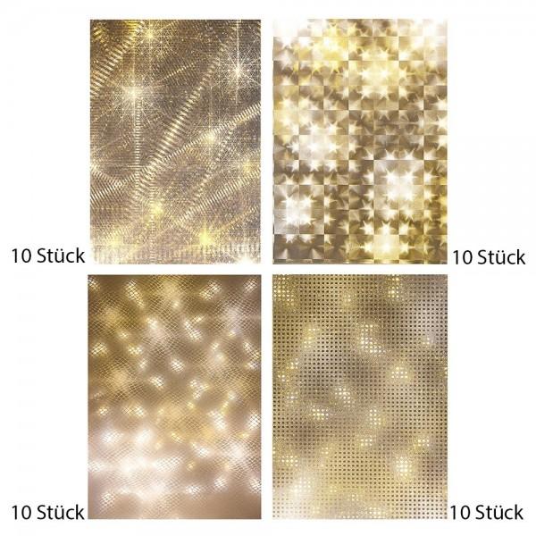 Outlet-Set, Lichteffektfolien A5