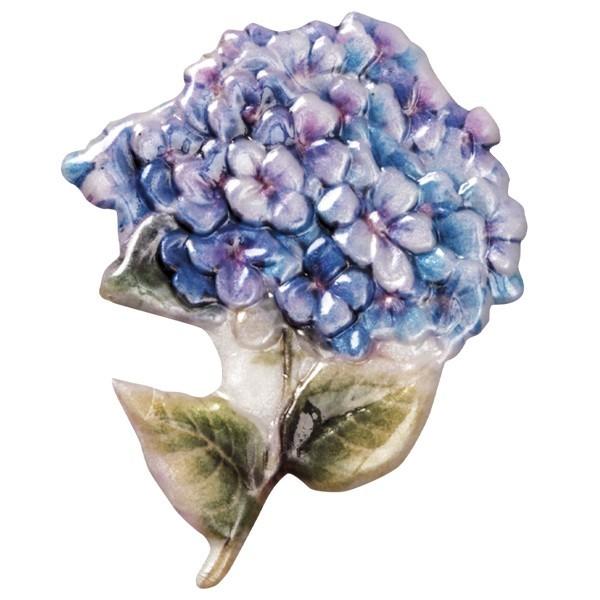 Wachsornament Blumenvasen 7, farbig, geprägt, 8cm