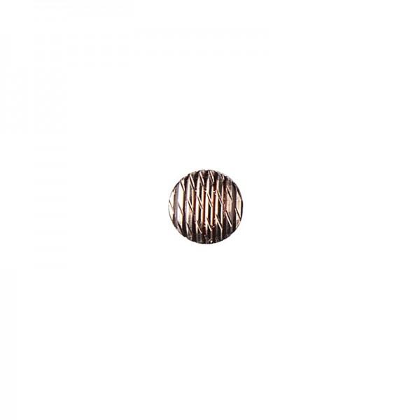 Hot-Fix Relief-Nieten zum Aufbügeln, Ø 6mm, braun, 200 Stück