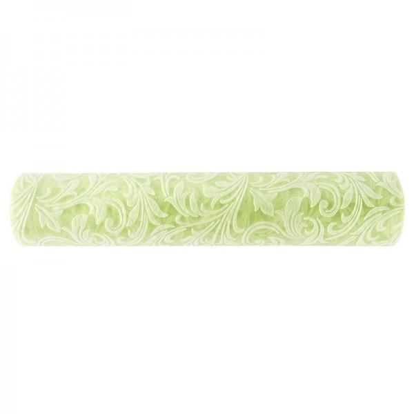 Relief-Vlies Deluxe, Ornamente, 30cm breit, 5m lang, auf Rolle, lindgrün