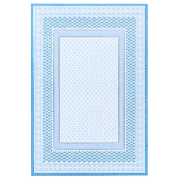 Motiv-Grußkarten, pastell-blau, B6, inkl. Umschläge, 10 Stück