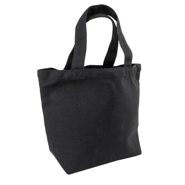 Textil-Tasche, 30cm x 20,5cm x 11cm, mit kurzen Tragehenkeln, schwarz