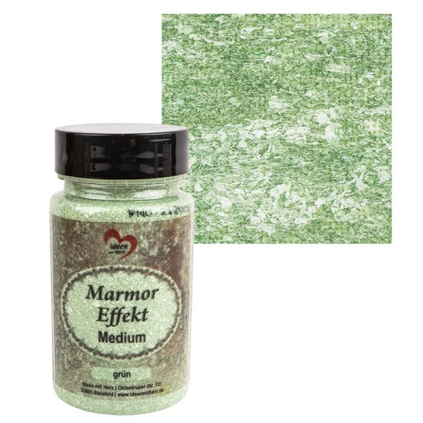 Marmor-Effekt-Medium, grün, 90ml