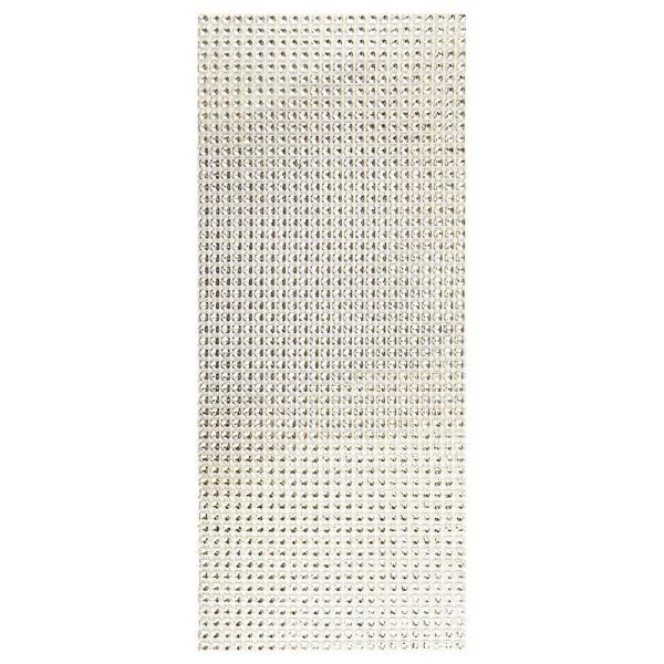 Schmuck-Netz, selbstklebend, 12 x 30 cm, Bi-Color, gold/silber