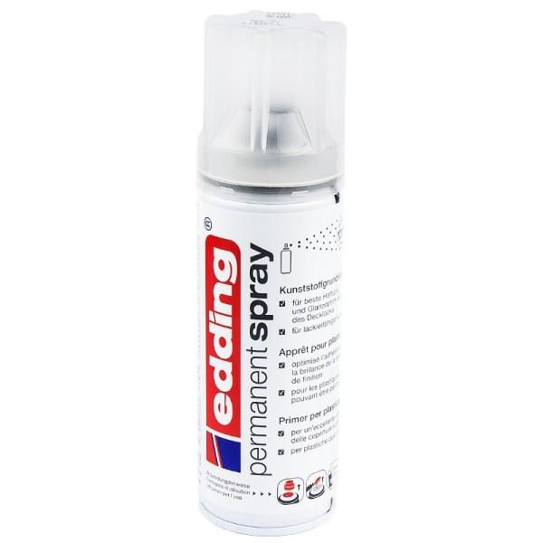Edding Permanent-Spray, Kunststoffgrundierung, transparent, 200 ml