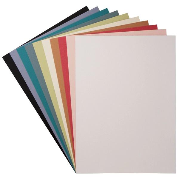 """Design-Karton, """"Borneo"""", DIN A4, 10 Farben, 30 Bogen"""