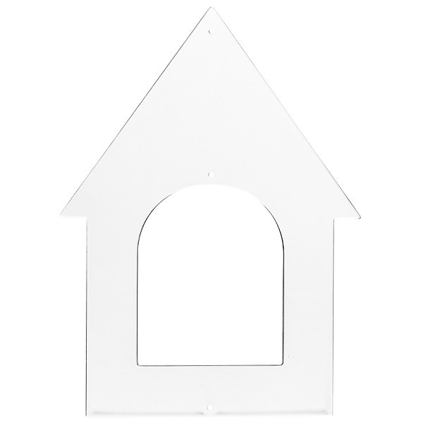 Acryl-Anhänger,Haus