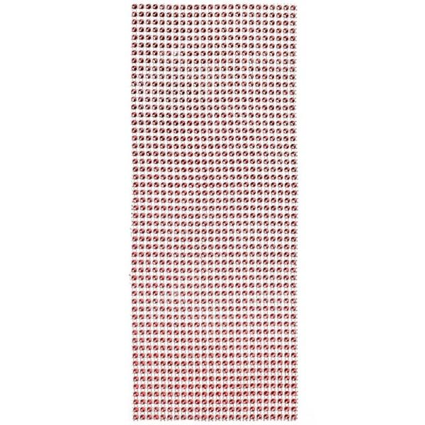 Schmuck-Netz, selbstklebend, 12 x 30 cm, rot