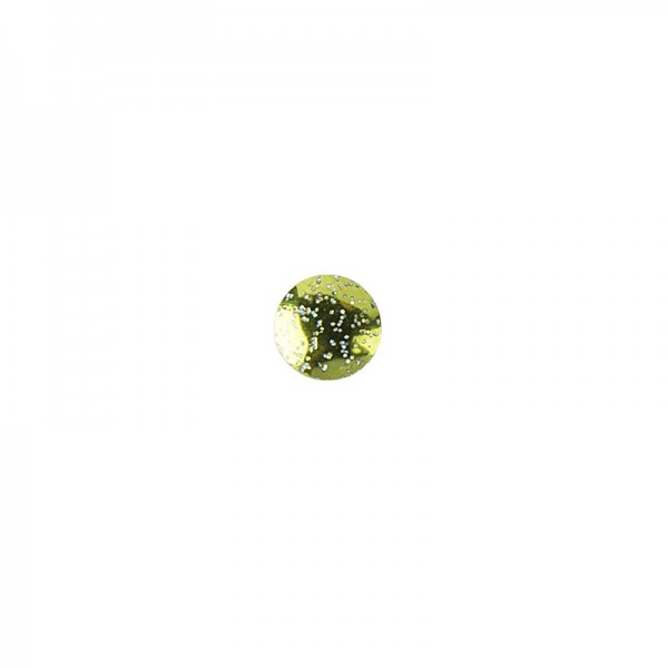 Hot-Fix Glitzer-Nieten zum Aufbügeln, Ø 6mm, hellgrün, 200 Stück